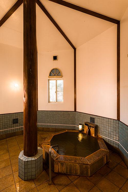 貸切風呂 八角堂風呂
